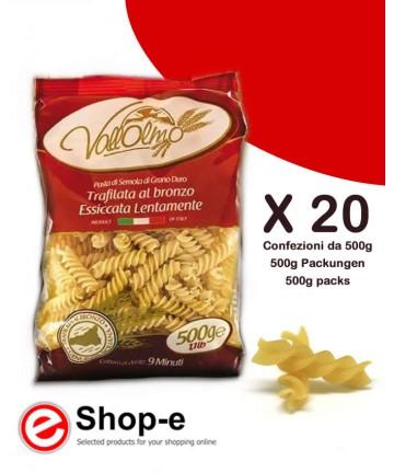 Fusilli di grano duro siciliano Vallolmo