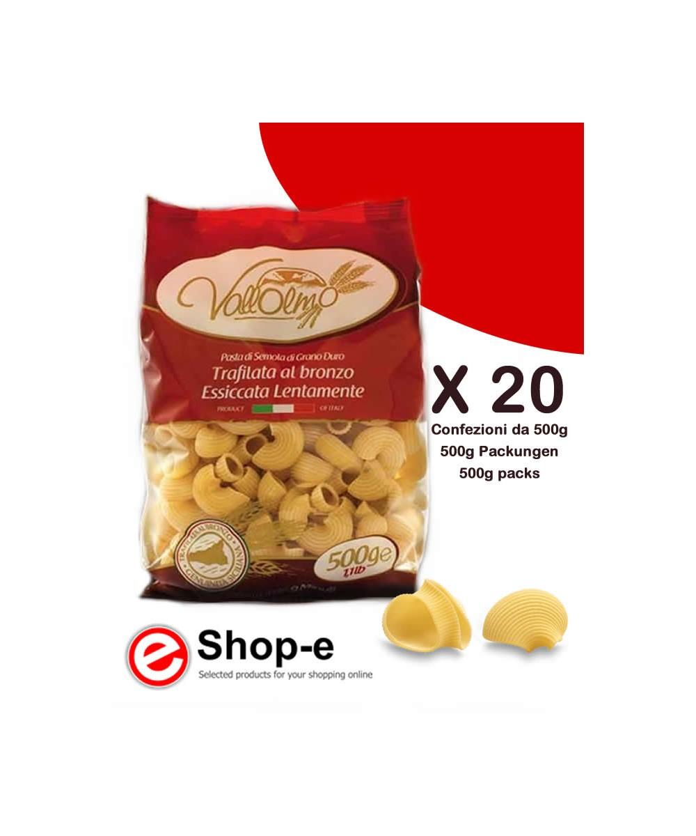 Lumaconi di grano duro siciliano Vallolmo