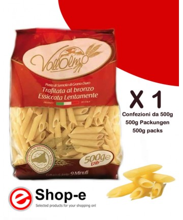 Penne rigate made with Sicilian Vallolmo durum wheat 500g
