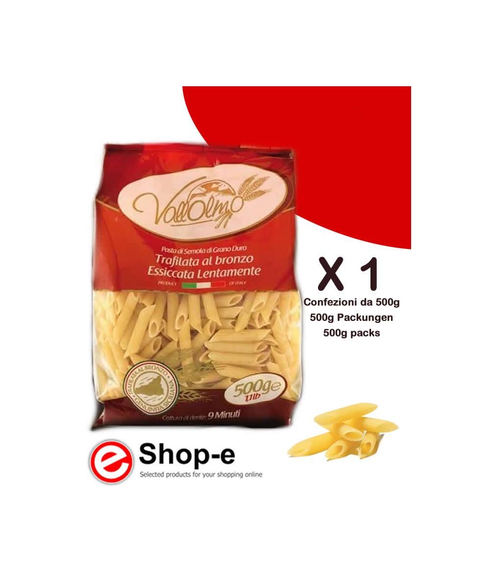 500g of Sicilian durum wheat Penne Siciliane Vallolmo