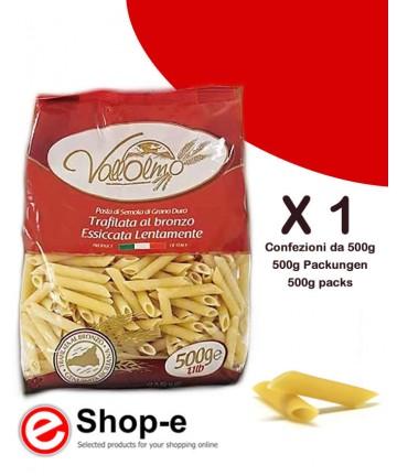 Penne Lisce di grano duro siciliano Vallolmo 500g