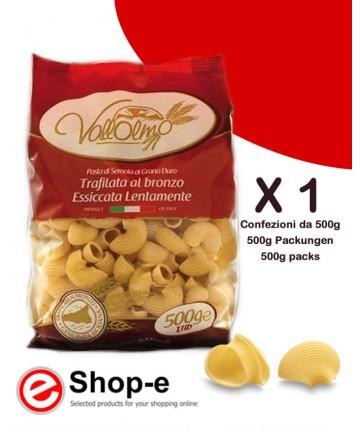 Lumaconi di grano duro siciliano Vallolmo 500g