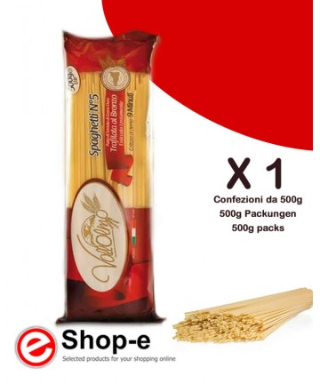 Vallolmo Sicilian durum wheat spaghetti 500g