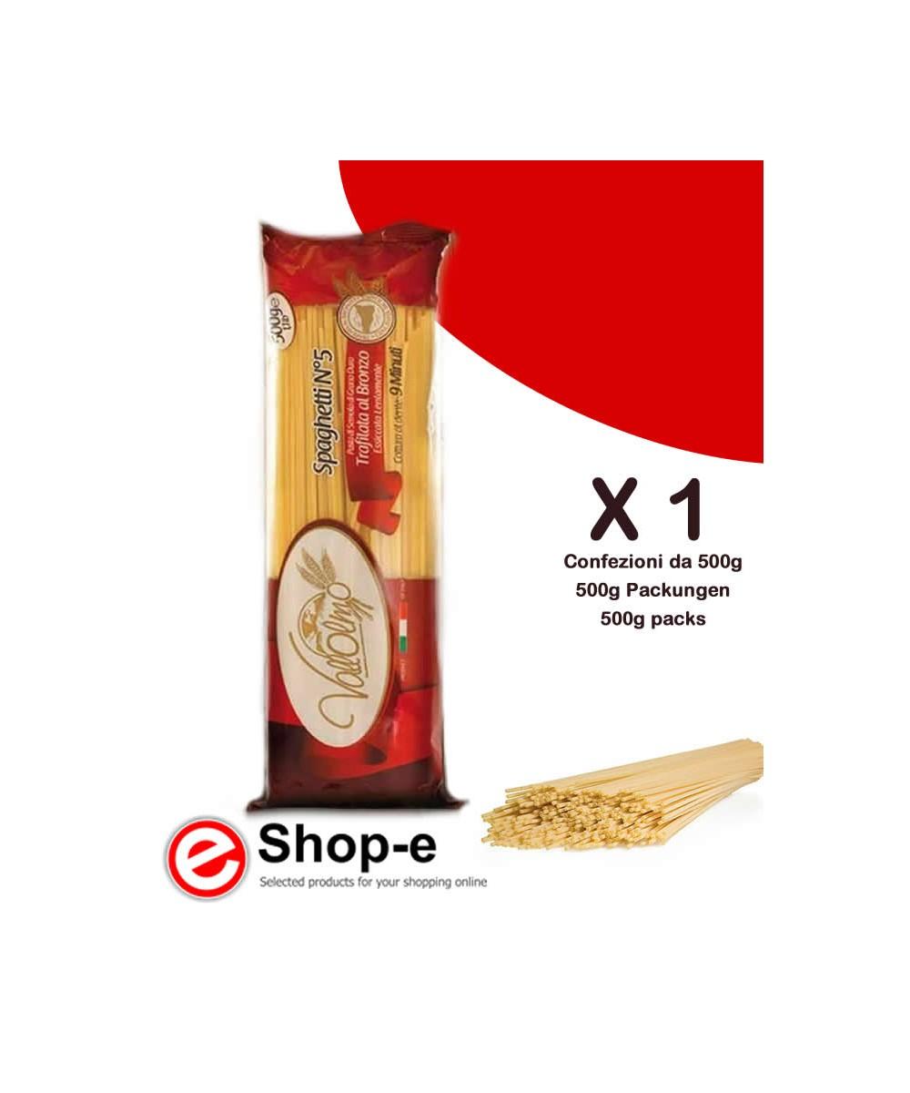 Vallolmo Sicilian durum wheat spaghetti 500g
