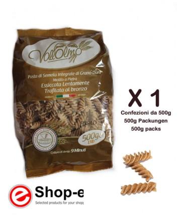 Vallolmo Sicilian durum wheat wholemeal fusilli 500g