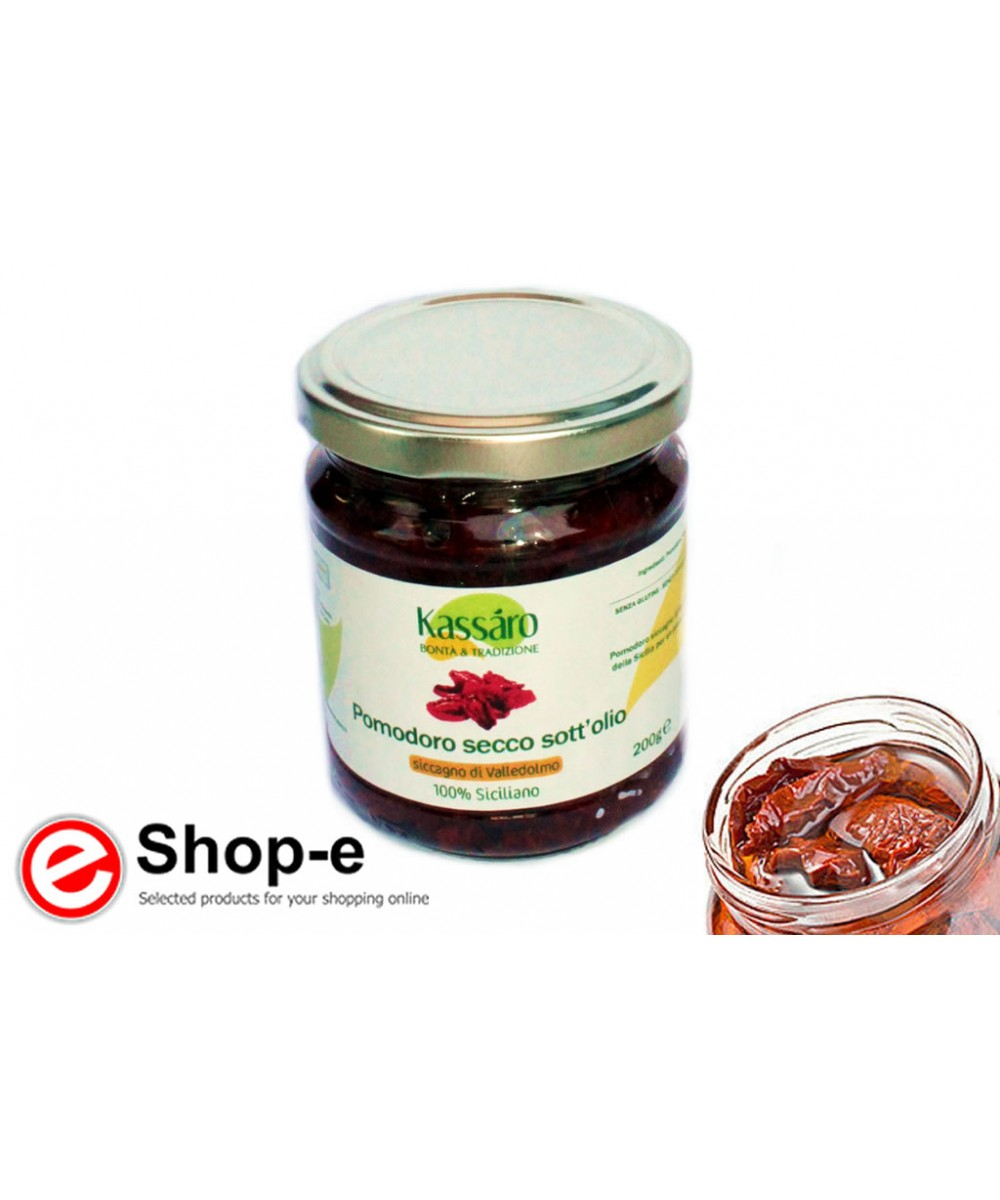 Dried tomatoes in oil of 200g