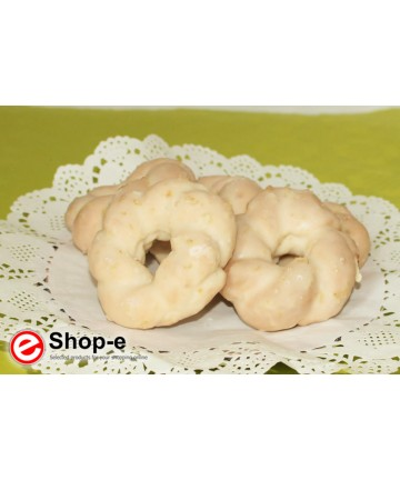 glazed lemon Taralli