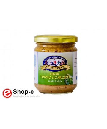 Patè of tuna and artichokes in olive oil