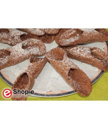 Sicilian cannoli wafers
