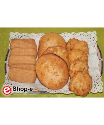 Gemischte handwerkliche Kekse