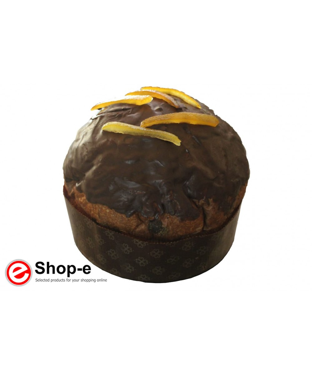 Handcrafted orange and chocolate panettone 900 grams
