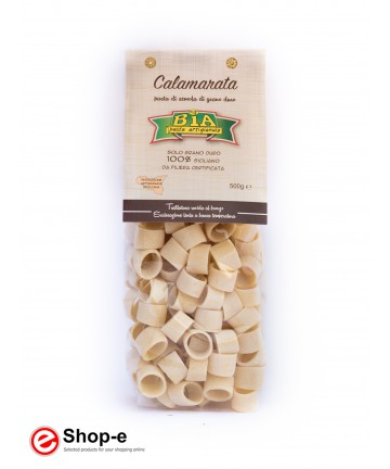 bronze drawn Calamarata artisanal pasta