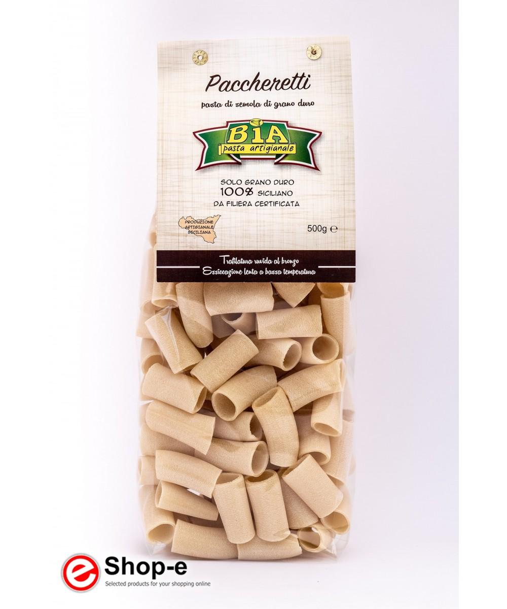 6 kg of bronze drawn Paccheretti artisan pasta