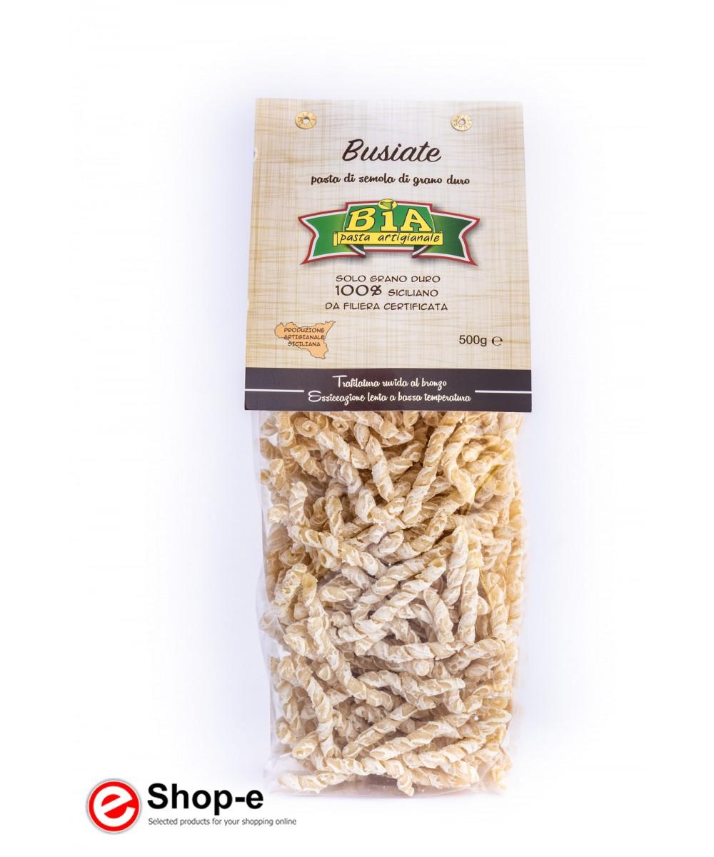 6 kg of artisan pasta Busiate bronze drawn