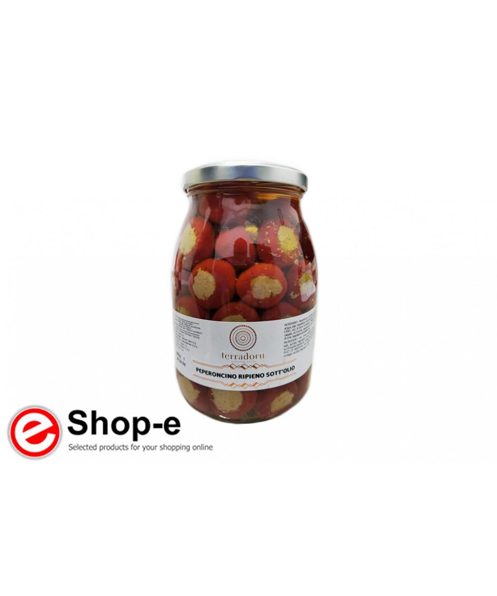 970g stuffed peppers in oil