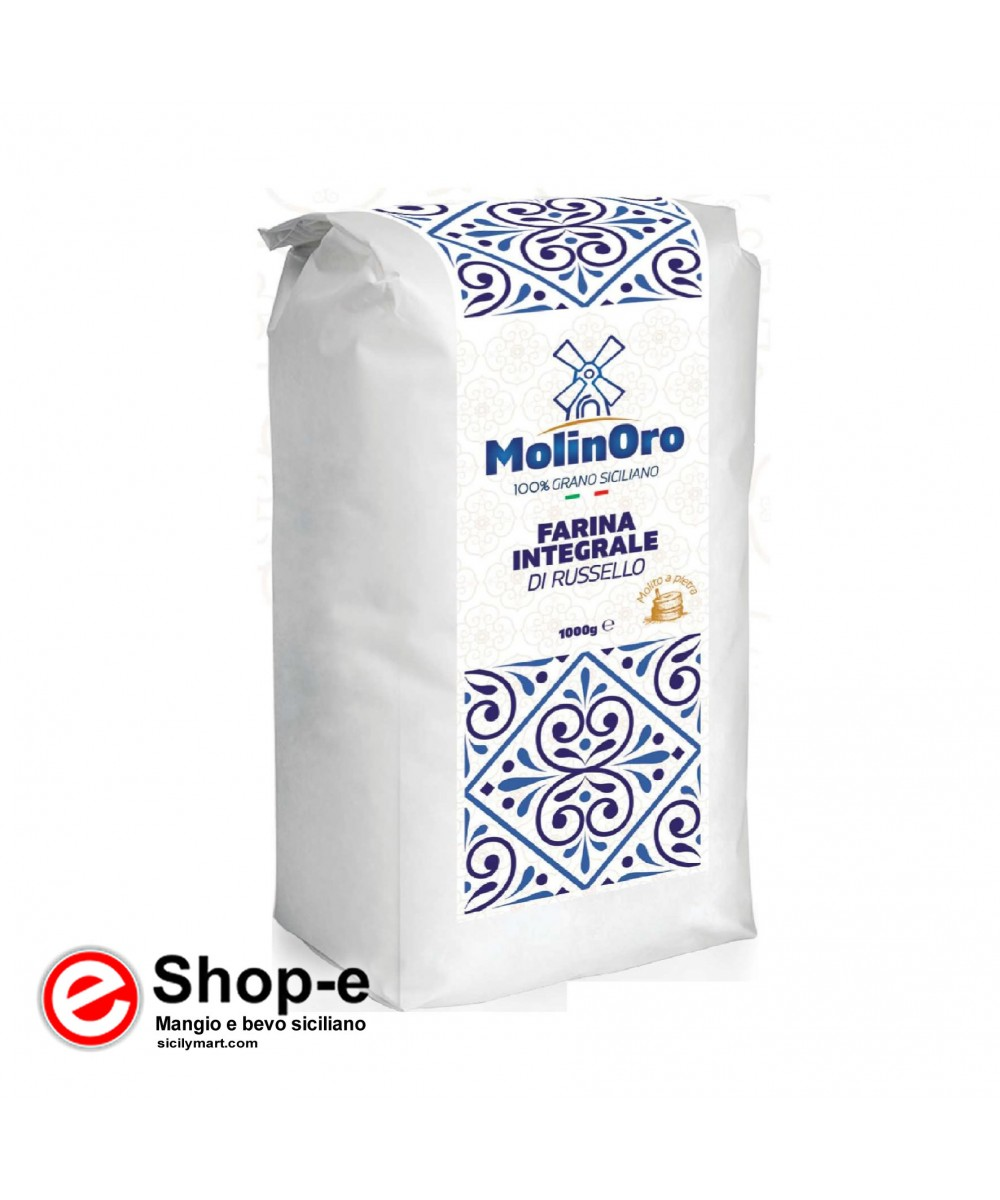 1 Kg of RUSSELLO wholemeal flour