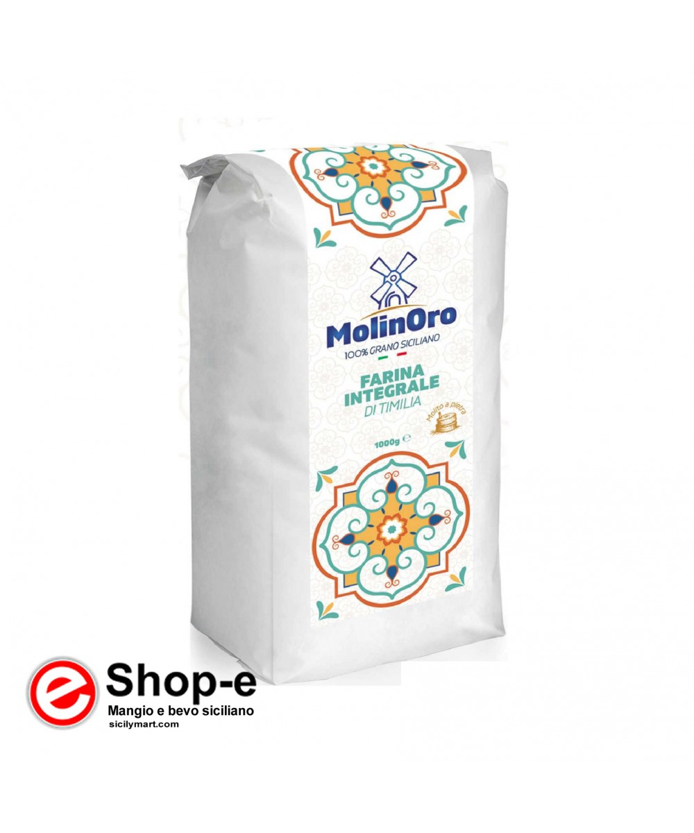 1 kg of TIMILIA wholemeal flour