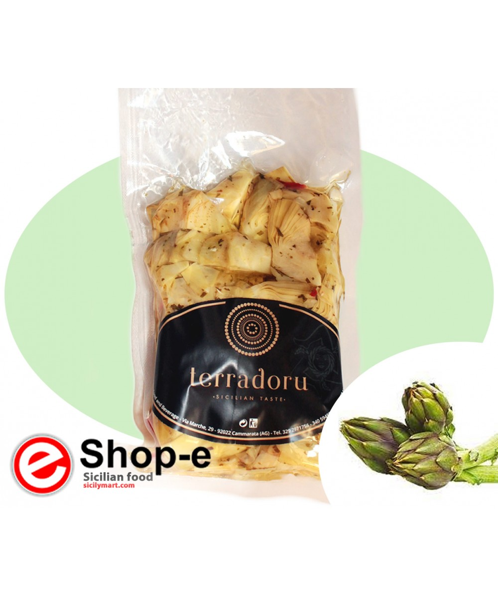 Artichokes in oil in 500 g bag