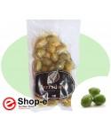 Whole Sicilian green olives