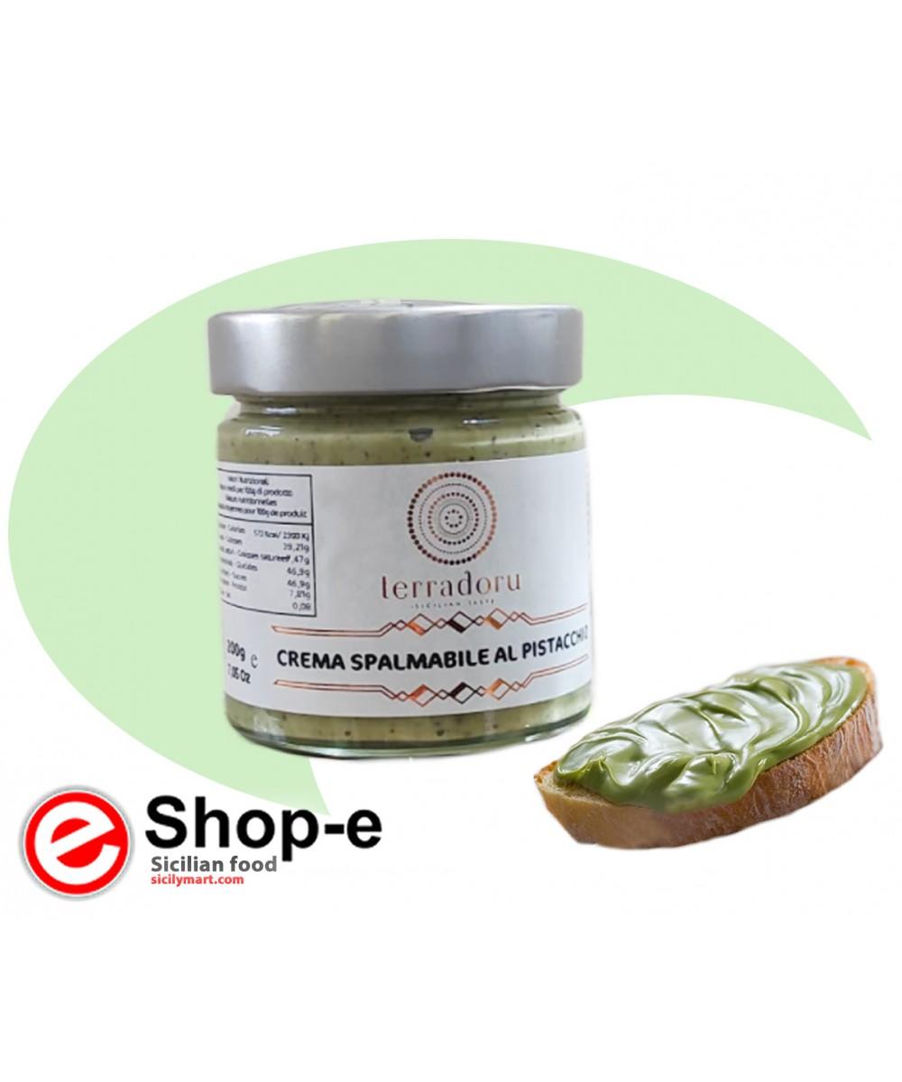 Pistachio spreadable cream of 200 grams