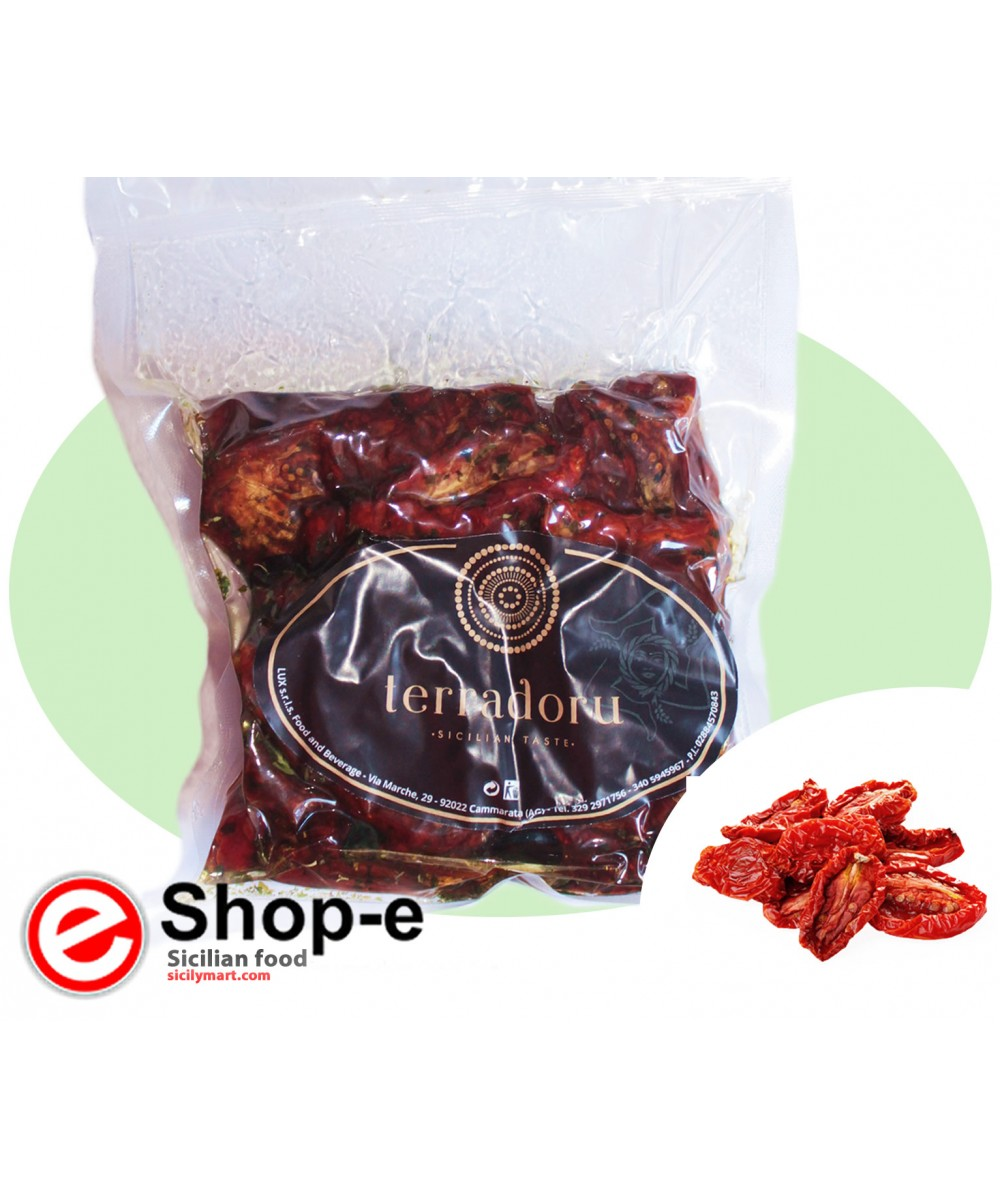 500 g of dried tomatoes in olive oil