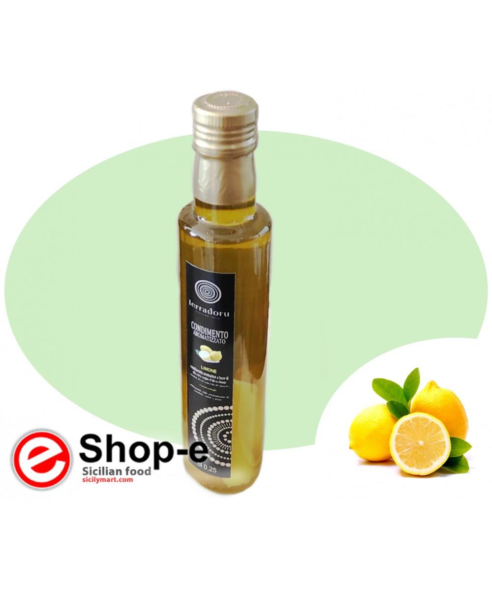 250 ml dressing based on Olive Oil and Sicilian Lemon