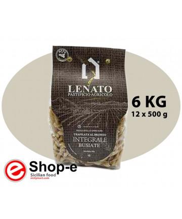 Pasta integrale di semola di grano duro siciliano, busiata