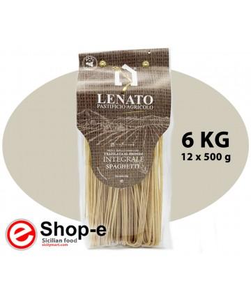 whole wheat durum wheat spaghetti
