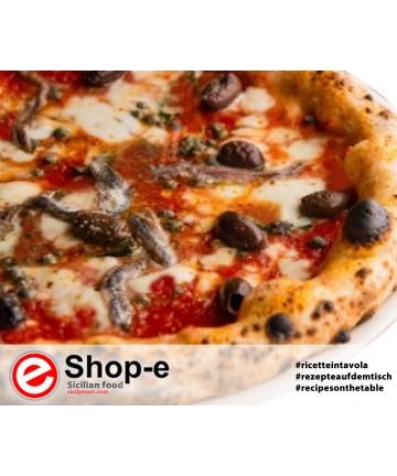 Pizza siciliana per 6 persone - Ricette in tavola