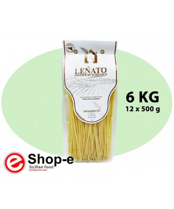 Sicilian durum wheat spaghetti