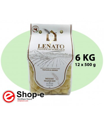 Mezze maniche of Sicilian durum wheat