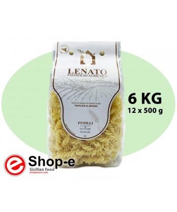 Sicilian durum wheat fusilli