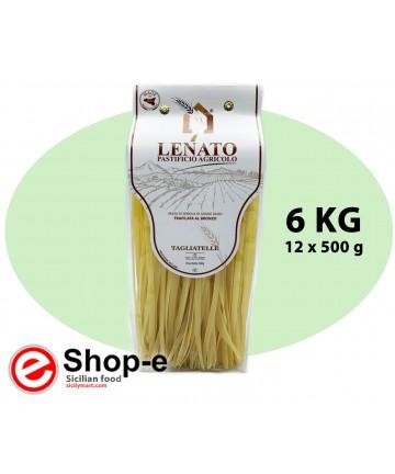 Sicilian durum wheat tagliatelle