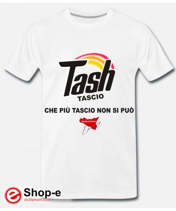 TASH Weißes Original T-Shirt im Astanchiama-Stil