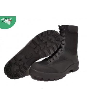 Col. Black Winter Amphibious, aus Leder und wasserabweisendem Stoff