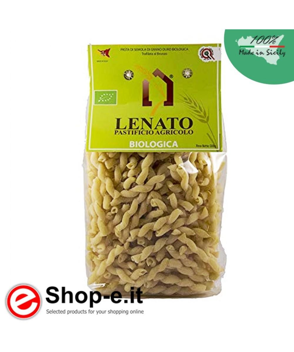 Pasta di semola di grano duro biologico siciliano, busiata
