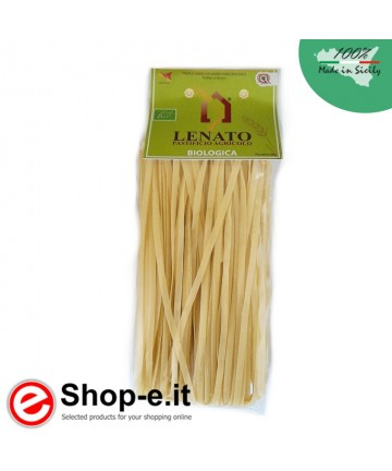 Pasta di semola di grano duro biologico siciliano, tagliatelle