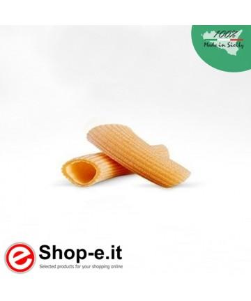 Pasta di semola di grano duro biologico siciliano, rigatoni