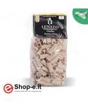 Pasta di semola di grano duro siciliano timilia, rigatoni