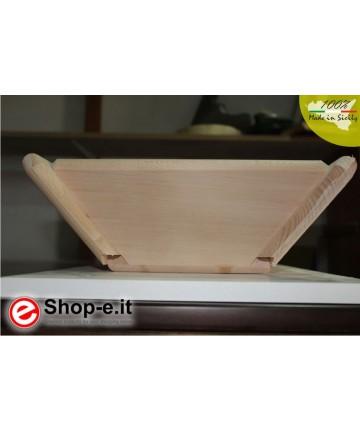 Medium high sideboard in solid beech