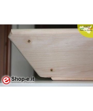 Large sideboard in solid beech
