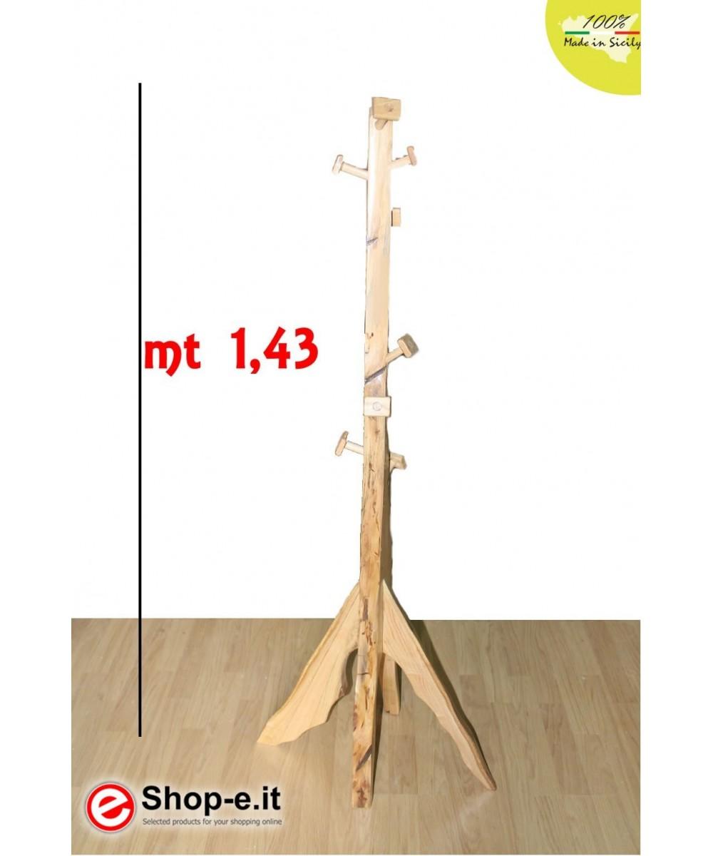 Appendino in castagno da cm 143