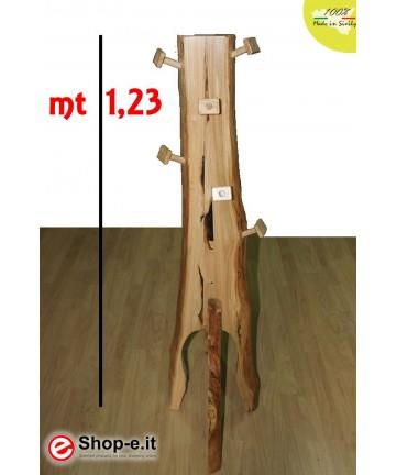 Appendino in castagno da cm 123