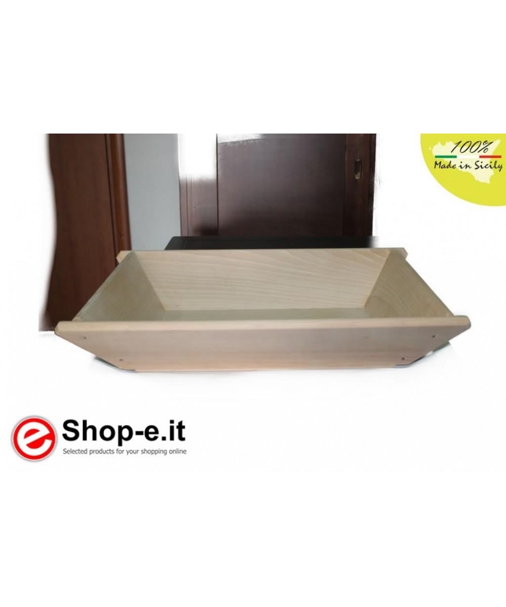 Medium low sideboard in solid beech