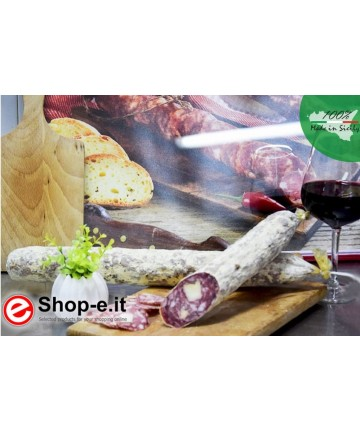 """Pecorino-Salami """"U Spinnu"""" von 1 kg"""