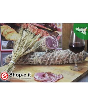Pancetta arrotolata dolce kg 1