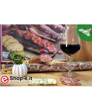 kg 1 Salami with gorgonzola