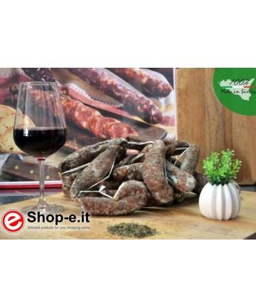 Salsiccia con finocchietto selvatico kg 1