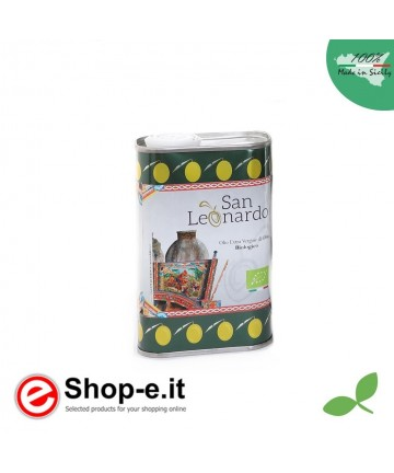 0.25 liters of Sicilian organic extra virgin olive oil