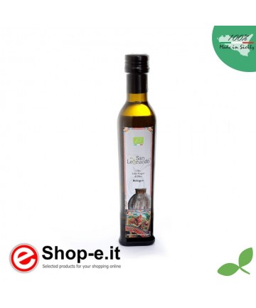 0.5 liter Sizilianisches Bio-Olivenöl extra vergine